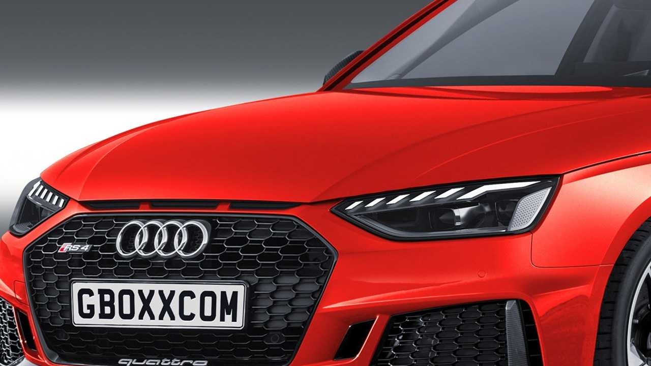 Audi RS4 renderkép