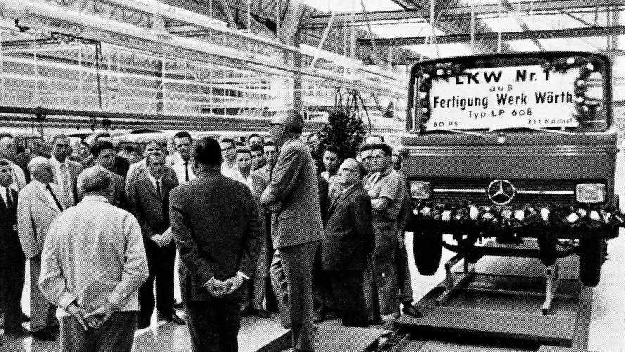 La fabbrica Mercedes-Benz di Wörth