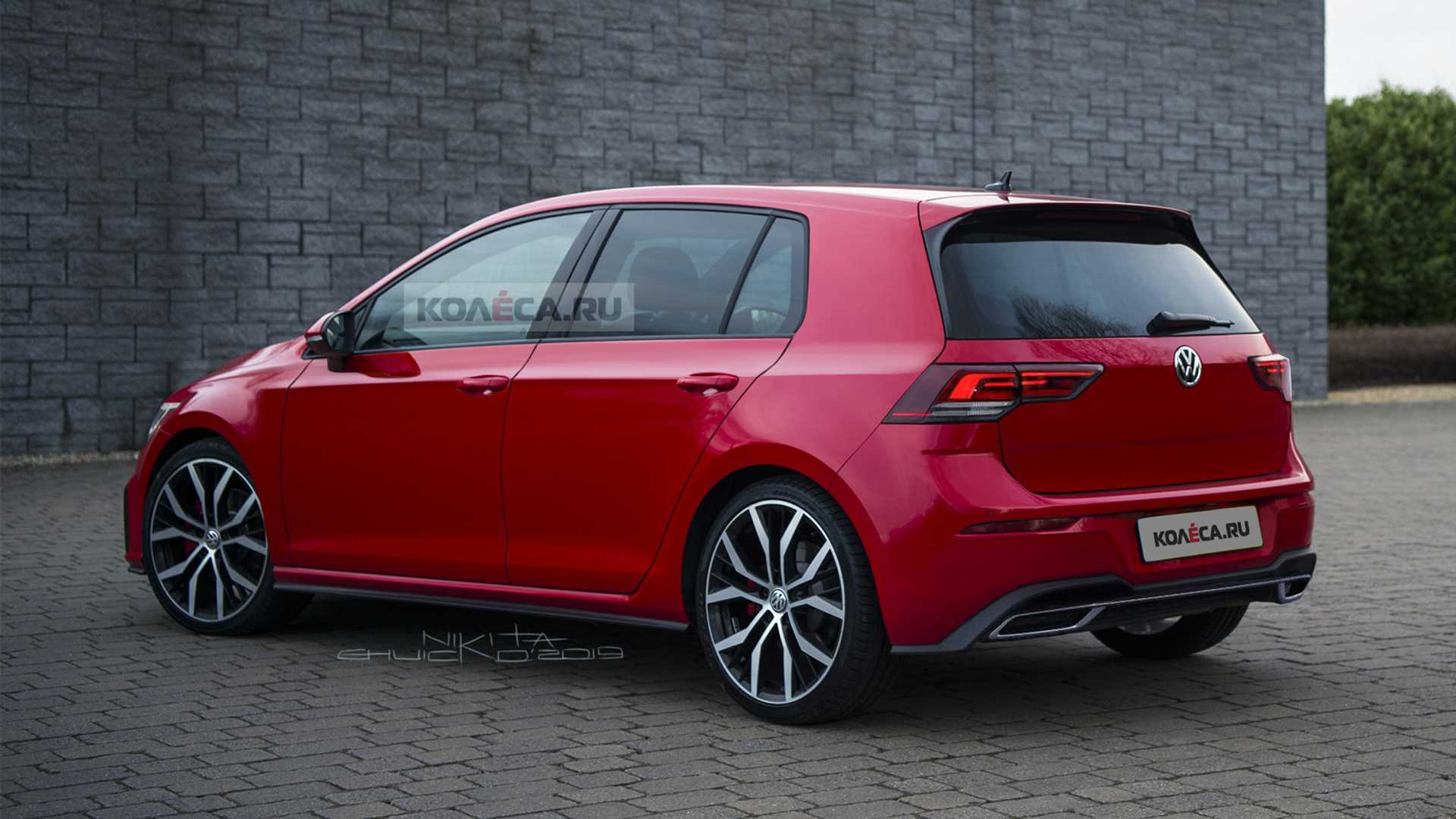 2020 Vw Golf Realistically Rendered Ahead Of October Reveal