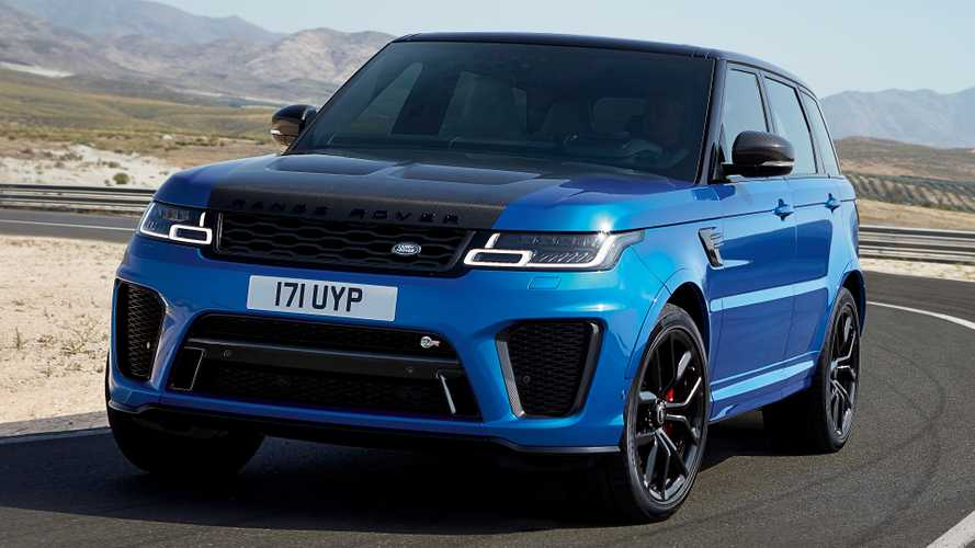 Range Rover Sport SVR is footballers' favourite finance car