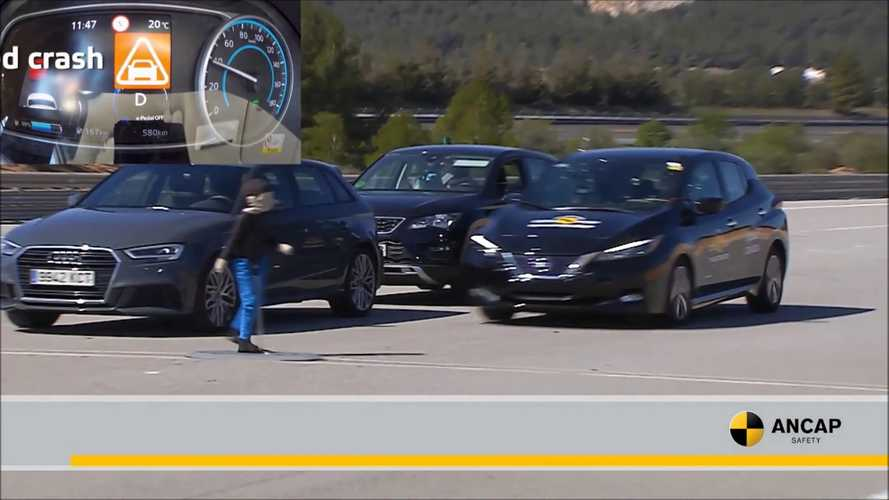 2019 Nissan LEAF Scores 5-Star Safety Rating From ANCAP: Video