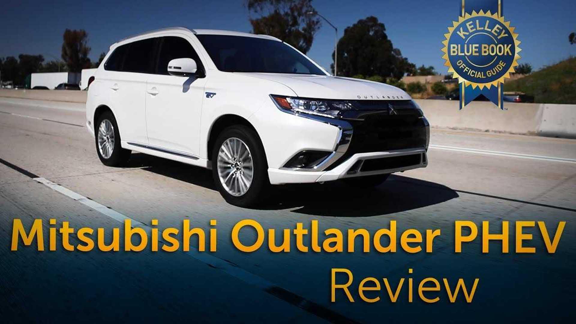Kelley Blue Book Checks Out 2019 Mitsubishi Outlander PHEV: Video