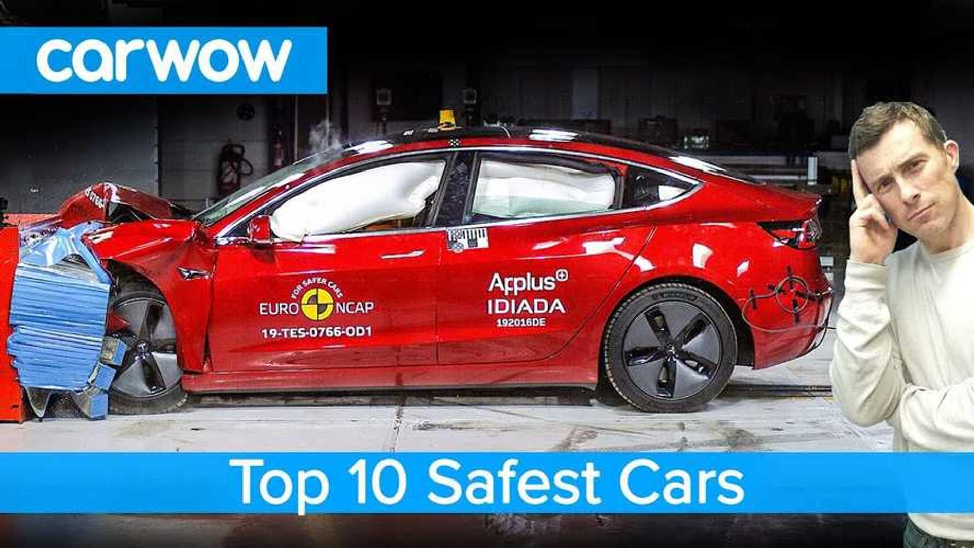 Tesla Model 3 Is #1 On Top 10 Safest Cars List: Video