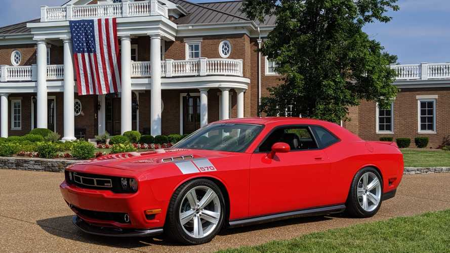 Rare 2010 Dodge Challenger Saleen In TorRed Goes To Auction