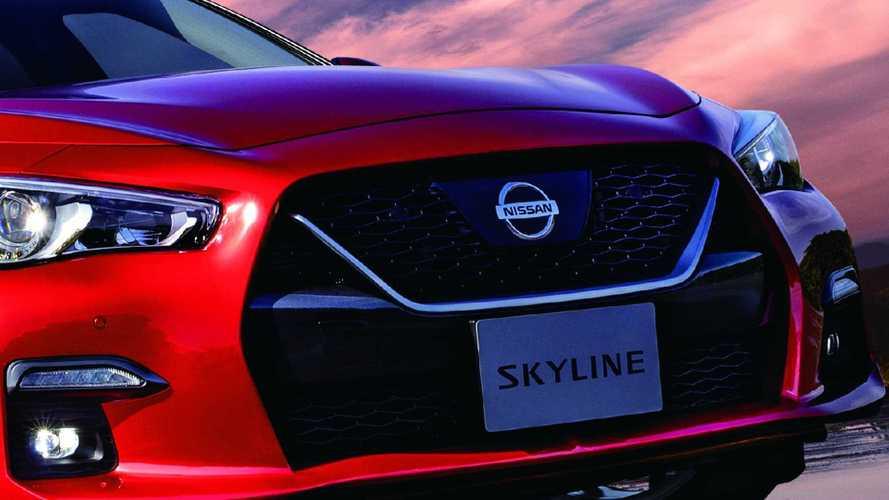 Nissan Skyline poderá ser transformado em cupê de 4 portas e SUV