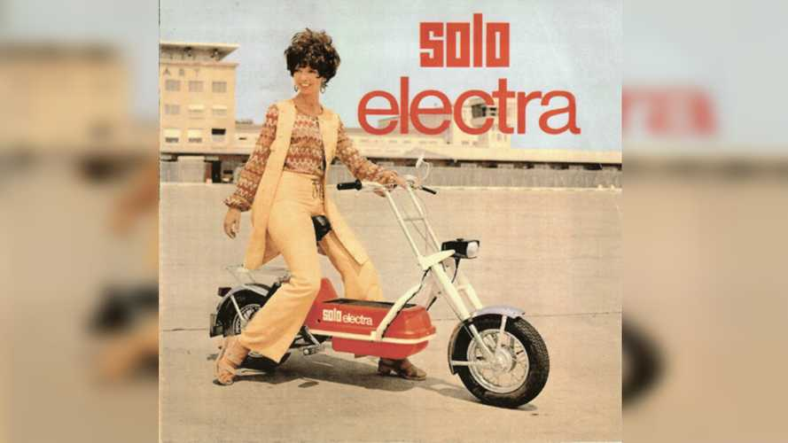 A Cutting Edge Electric Scooter From... 1973?