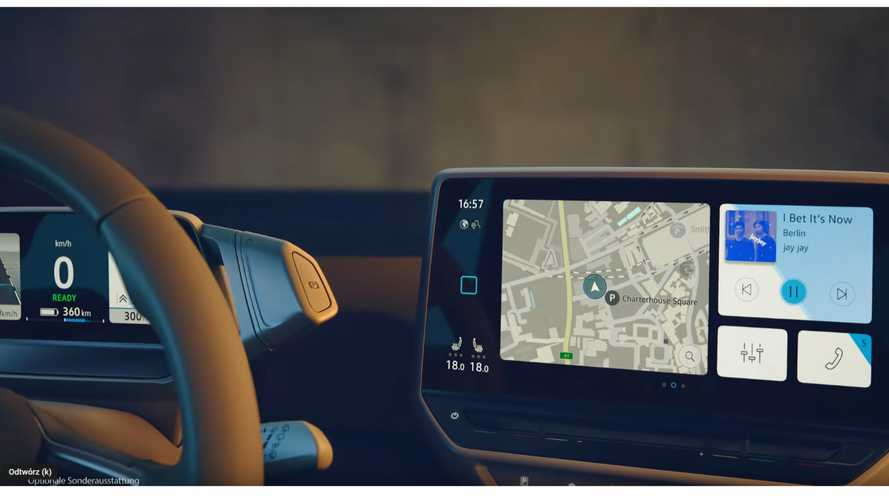 Volkswagen Teases ID.3 Dashboard: Video