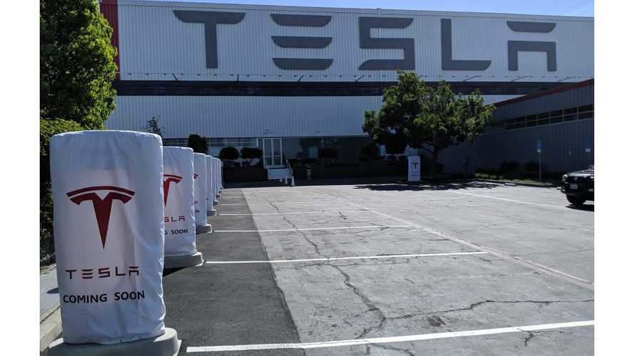 First V3 Tesla Superchargers Now Publicly Available At Tesla Factory