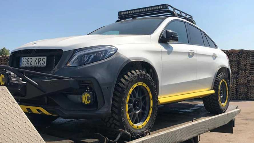 Mercedes-Benz GLE Coupe By Topcar Prepares For Rugged Work