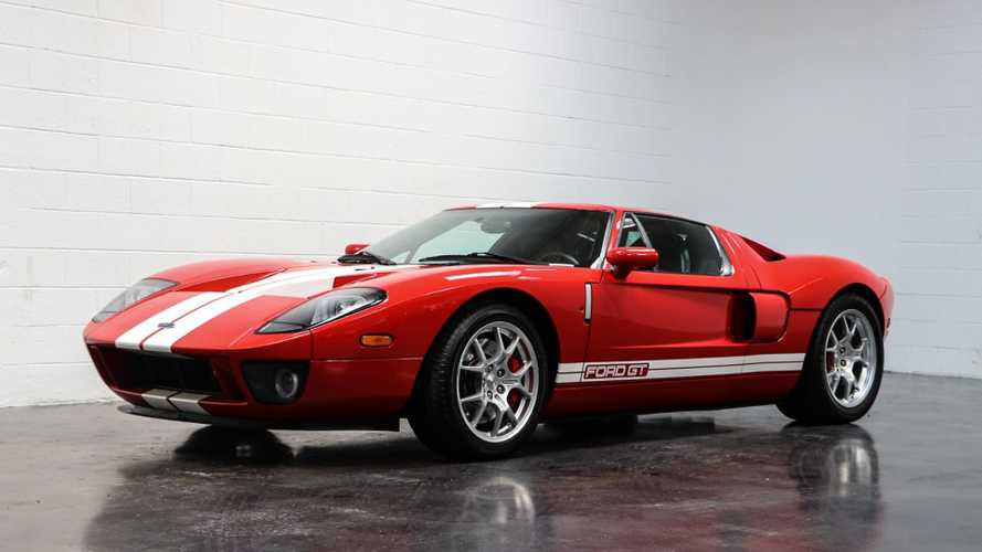2006 Ford GT Is A Domestic Exotic Supercar
