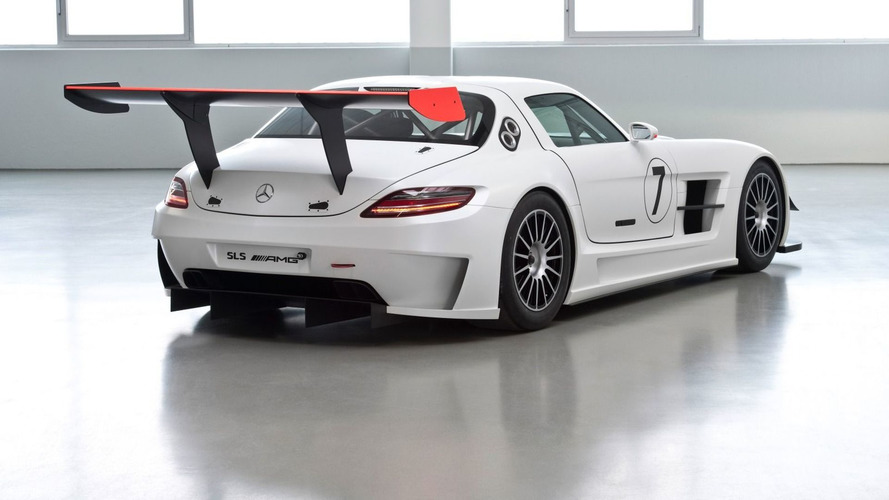 Mercedes SLS AMG GT3 Race Car Version First Photos Leaked [UPDATE]