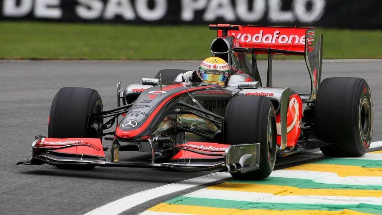 Lewis Hamilton (GBR), McLaren Mercedes, Brazilian Grand Prix, Friday Practice, Sao Paulo, Brazil, 16.10.2009