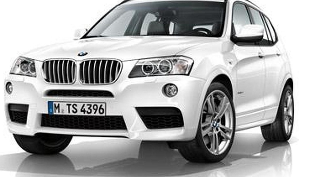 2011 BMW X3 With M Sport Package 687 16072010