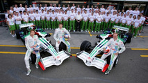 2008 Honda Formula 1 team photo