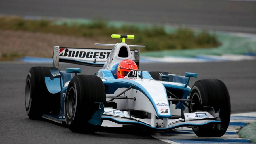 Bad weather affects Schu's GP2 test