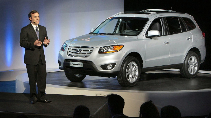 2010 Hyundai Santa Fe Facelift Announced