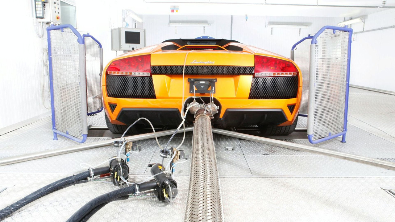 Lamborghini Murcielago Exhaust Gas And Climate Test Bed Motor1 Com