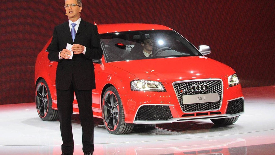 Audi RS3 turbocharges the Geneva crowds