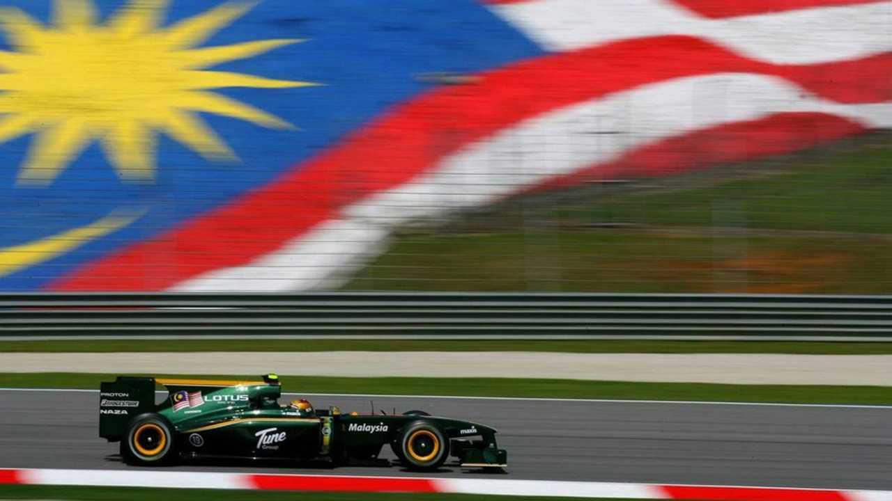 Fairuz Fauzy (MAL), Test Driver, Lotus F1 Team, Malaysian Grand Prix, Friday Practice, 02.04.2010 Kuala Lumpur, Malaysia