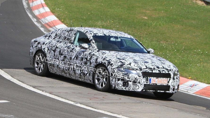 2011 Audi A7 spied on the Nurburgring for first time