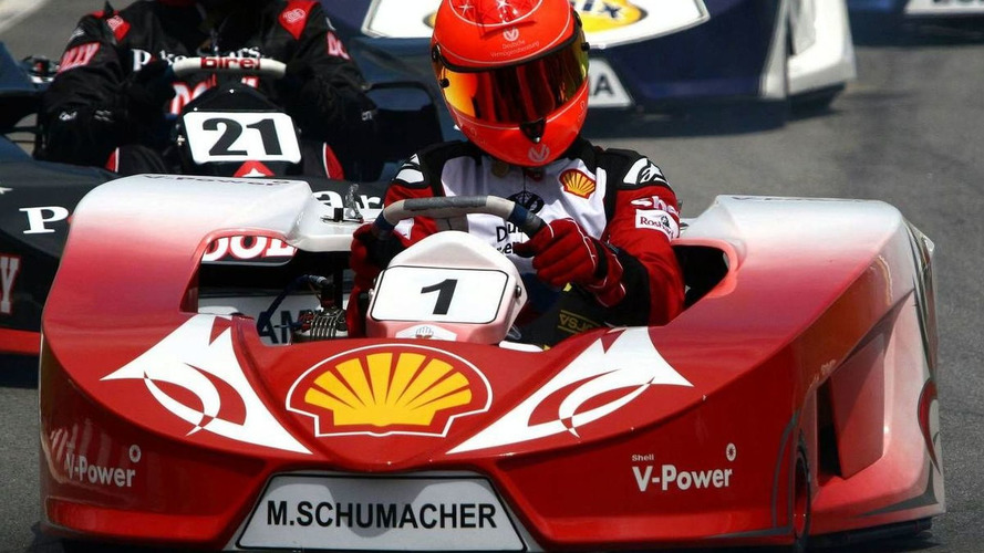 Michael Schumacher, International Challenge of Go-Kart Champs, Brazil 30.11.2008