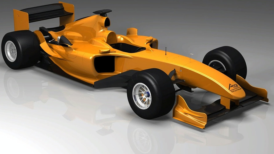 A1GP Release First image of Powered by Ferrari Car for 2008/2009 Season