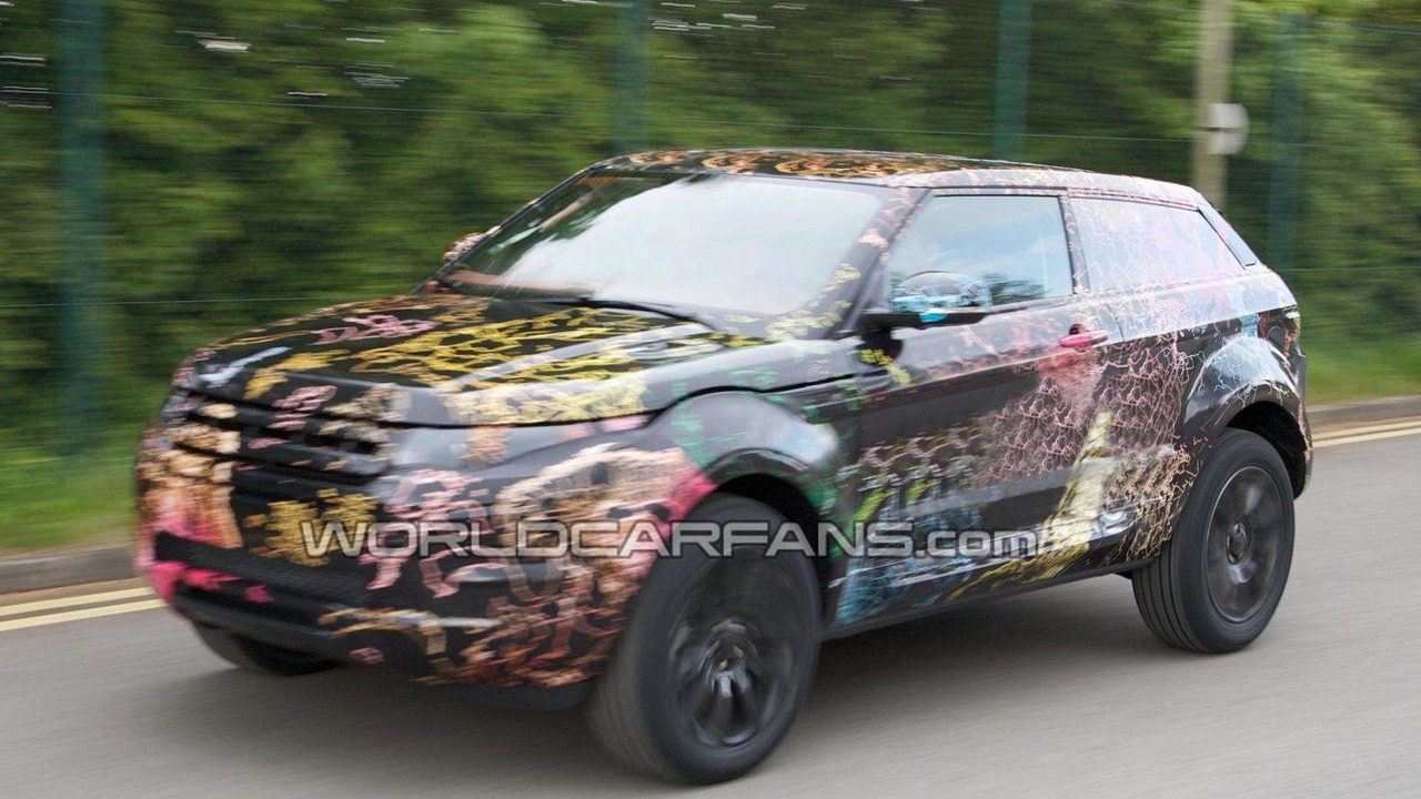 2011 Range Rover Lrx 3 Door Compact Suv Spied In Uk For First Time