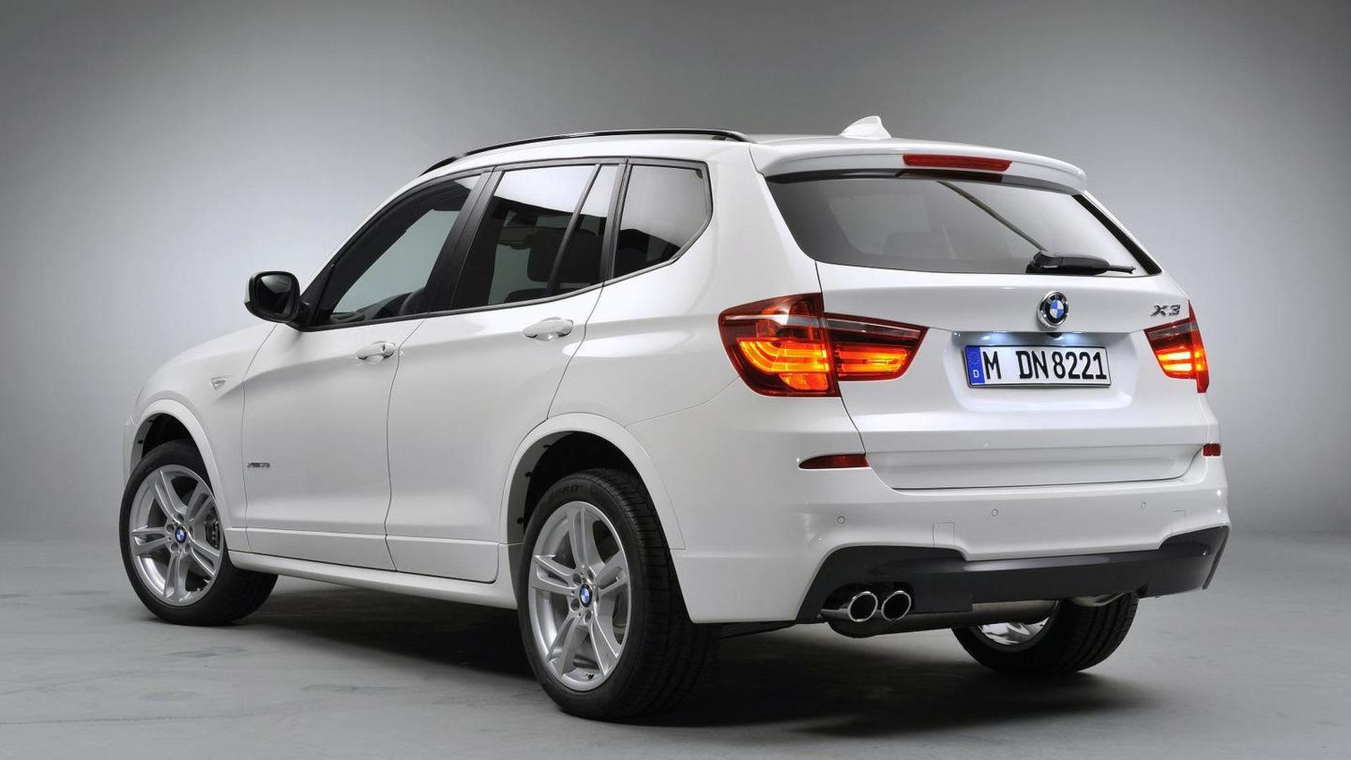 BMW X3 M Sport Package More Details And Photos