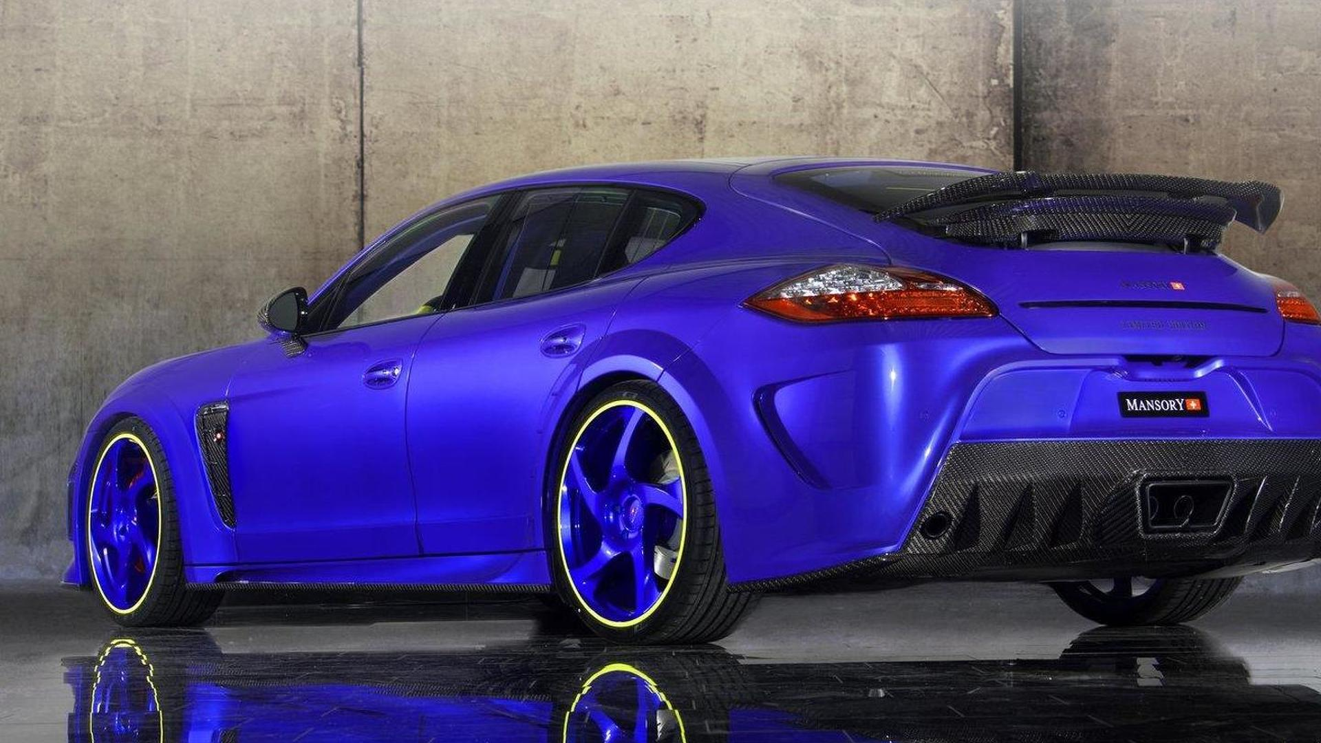 Mansory Panamera Turbo with 690 HP power pack revealed