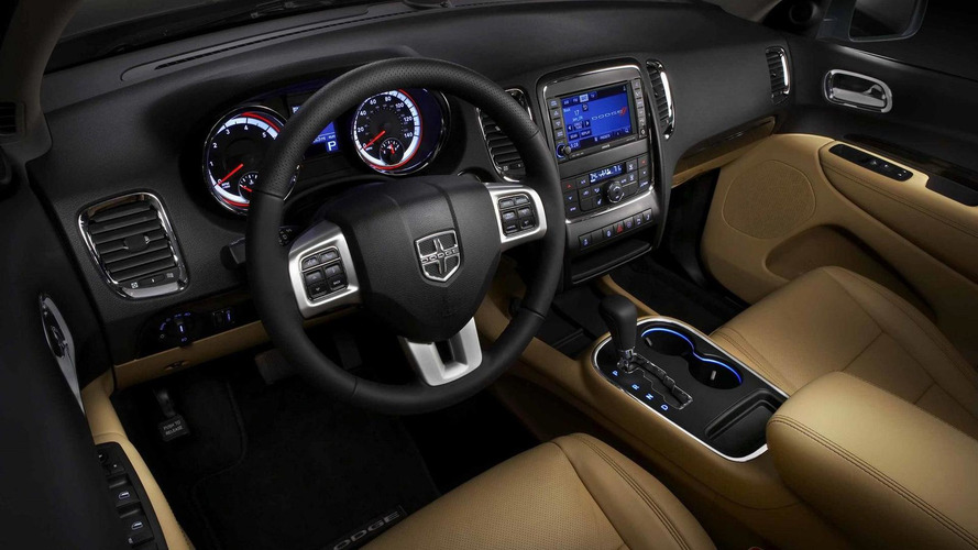 2011 Dodge Durango interior image released