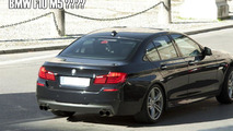 2012 BMW F10 M5 spied 01.11.2010 - possible