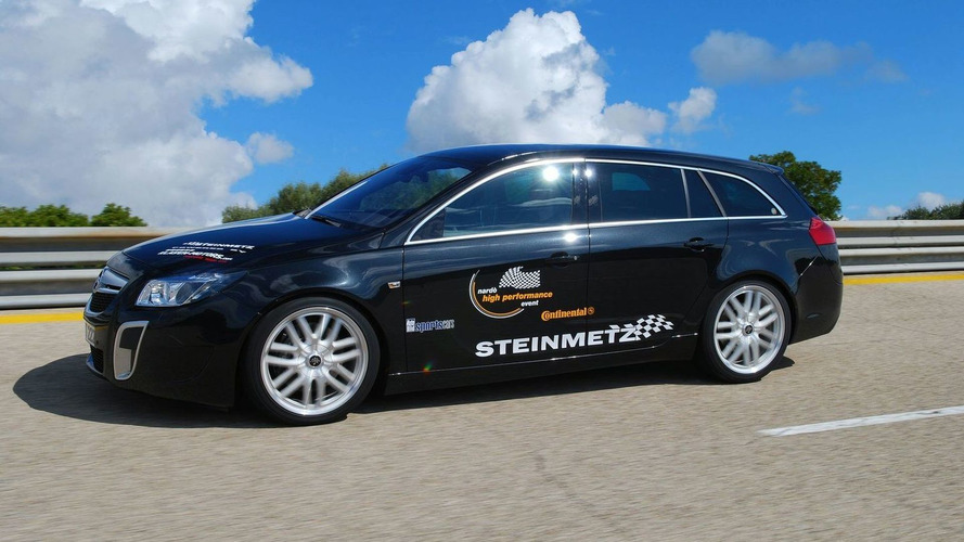 Steinmetz Sets Fastest Opel World Record