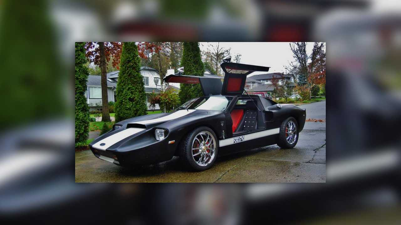 Pontiac Fiero Ford GT replica