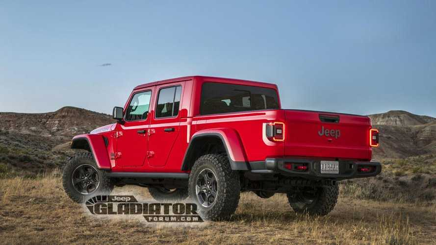 Jeep Gladiator 2020 - Fotos vazadas