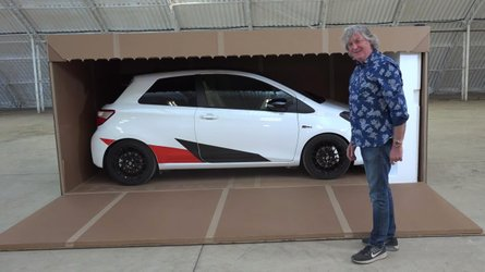 Watch James May literally unbox Toyota Yaris GRMN