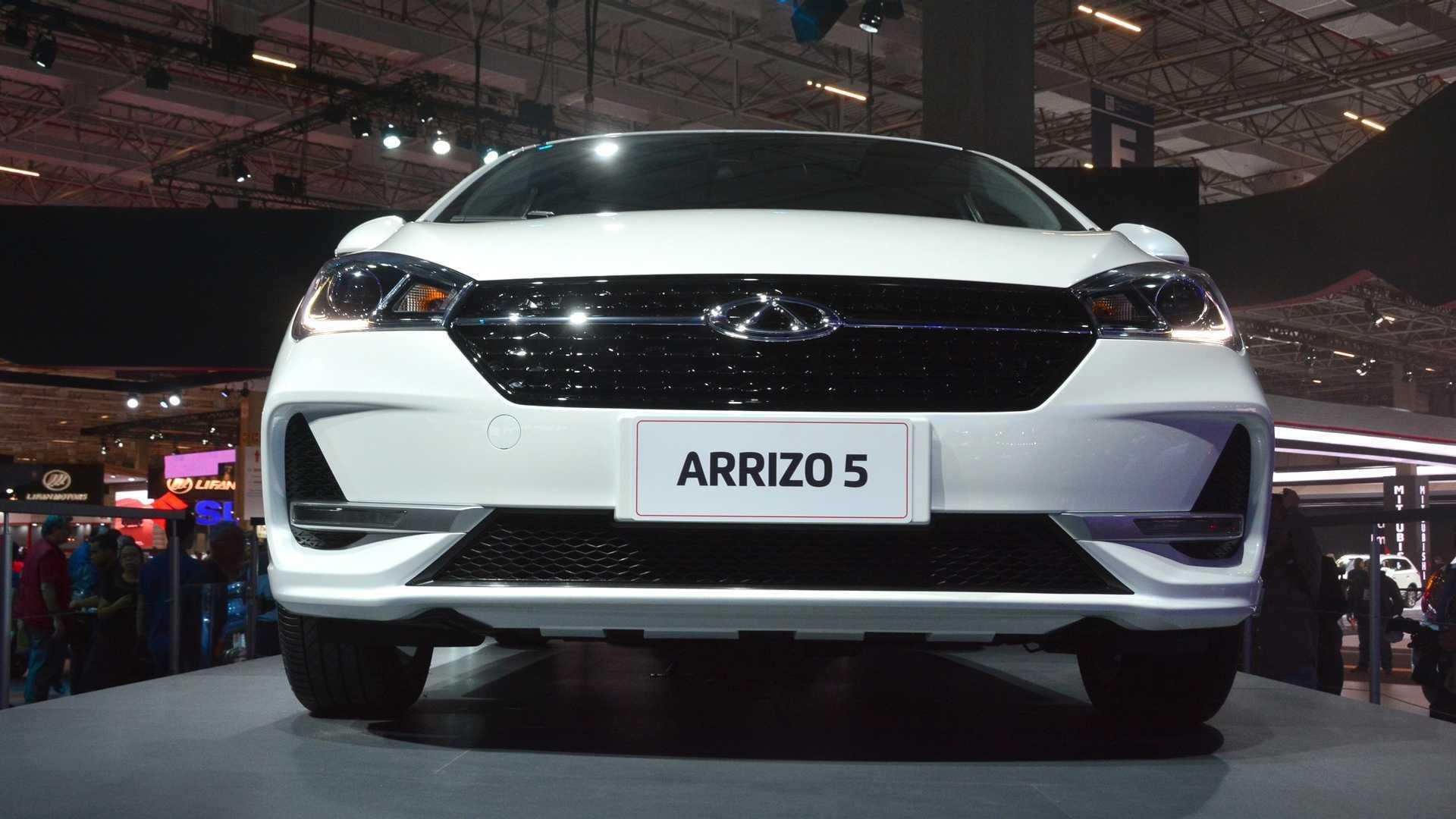 Salão de SP: Chery Arrizo 5 chega ao Brasil a partir de R$ 65.990 Chery-arrizo-5-salao-do-automovel