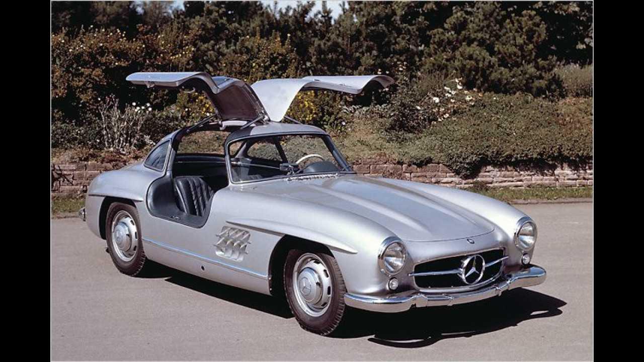 5. Platz: Mercedes 300 SL ,Flügeltürer