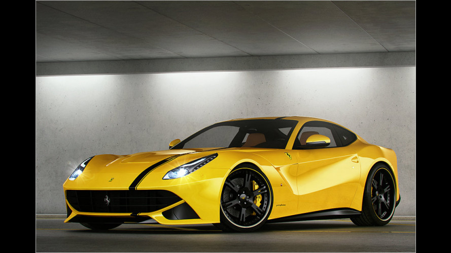 Wheelsandmore tunt den F12 Berlinetta