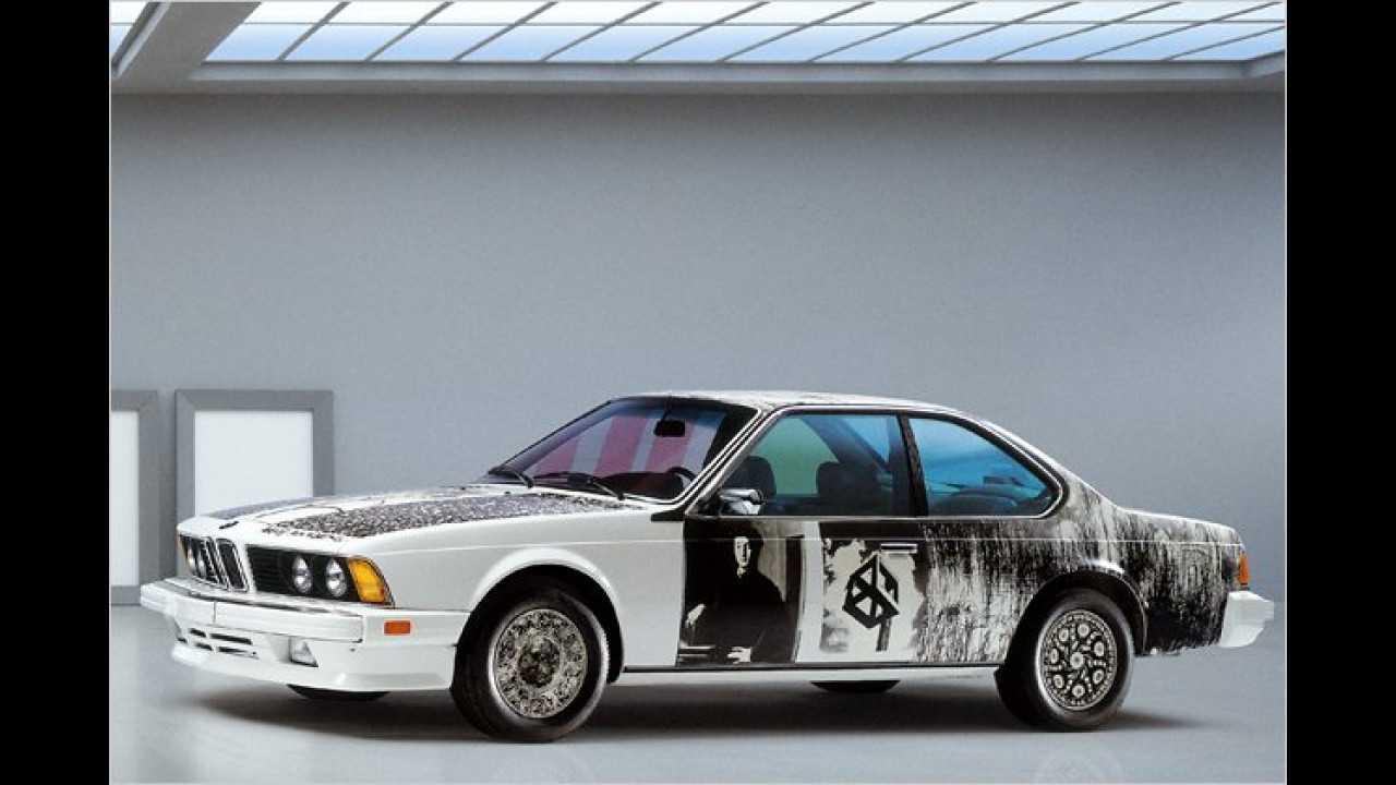 BMW 635 CSi: Robert Rauschenberg (1986)