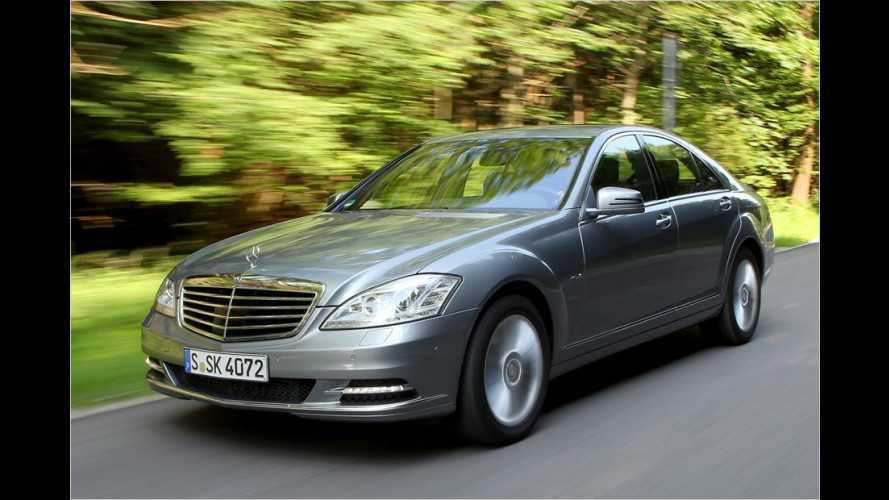 Reichen vier Zylinder in der Mercedes S-Klasse?