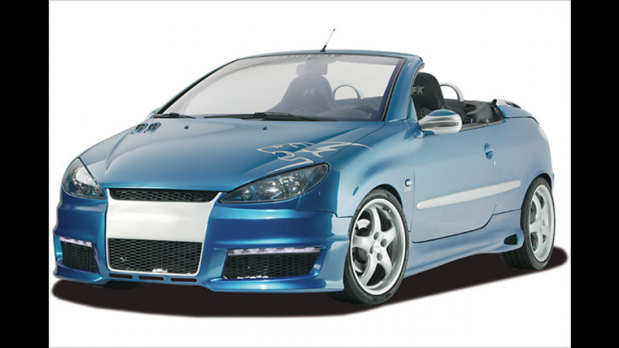 "Body-Kit ,French Dressing"" für den Peugeot 206 und 206 CC"