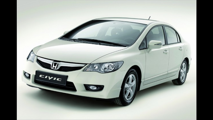 Civic-Hybrid-Facelift und Diesel-Automatik: Honda in Paris