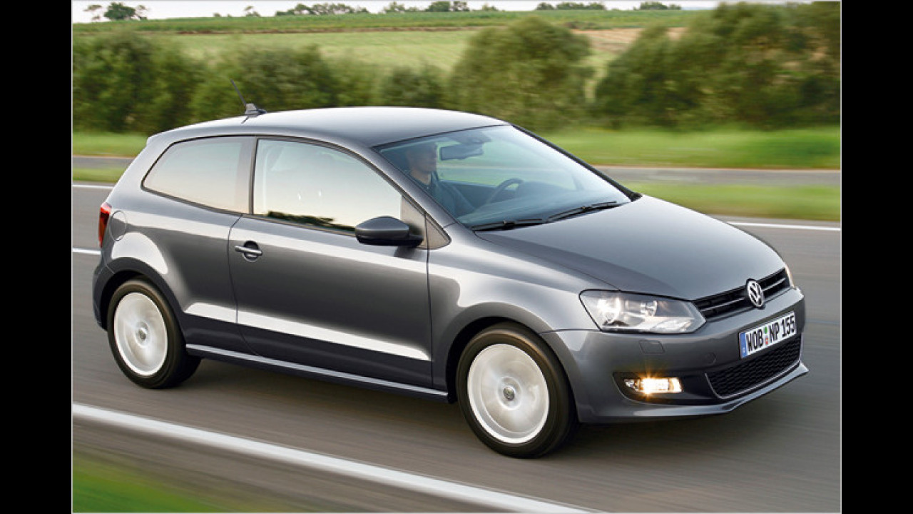 VW Polo 1.6 TDI BlueMotion Technology Trendline 3-türig DPF
