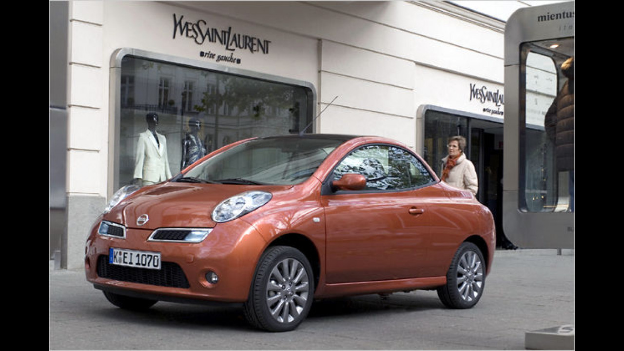 Frauenauto: Nissan Micra C+C