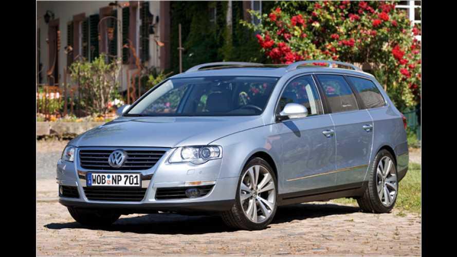 Erdgas, aber mit Druck: VW stellt Passat TSI EcoFuel vor