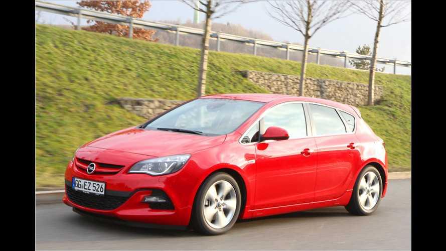 Opel Astra (2013): Mit dem stärksten Diesel auf großer Tour