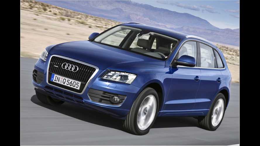 Günstigerer Einstieg: Neue Motoren für Audi Q5 und A4