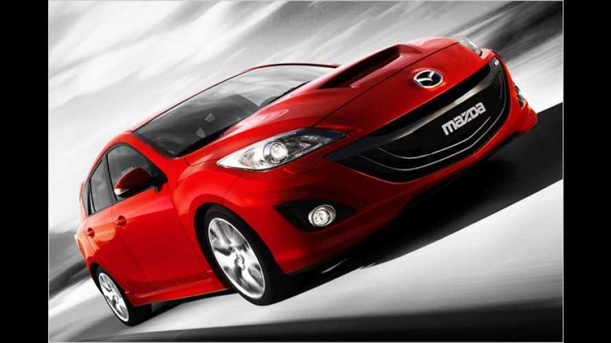 Mazda zeigt in Genf den neuen 3 MPS und neuen Motor