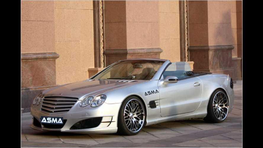 Asma Design macht Mercedes SL noch schärfer