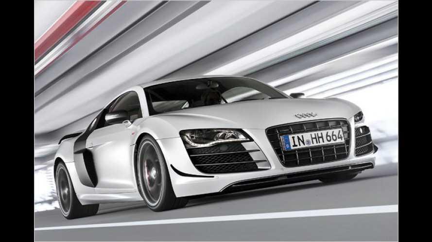 Stärker, leichter und besonders exklusiv: Audi R8 GT